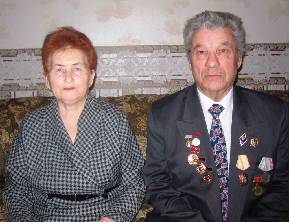 На фото: Динара Хабибулловна и Альберт Ахметович Ханнановы